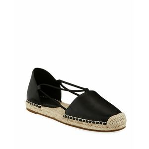 Eileen Fisher Leather Lee d'Orsay Espadrille Flat